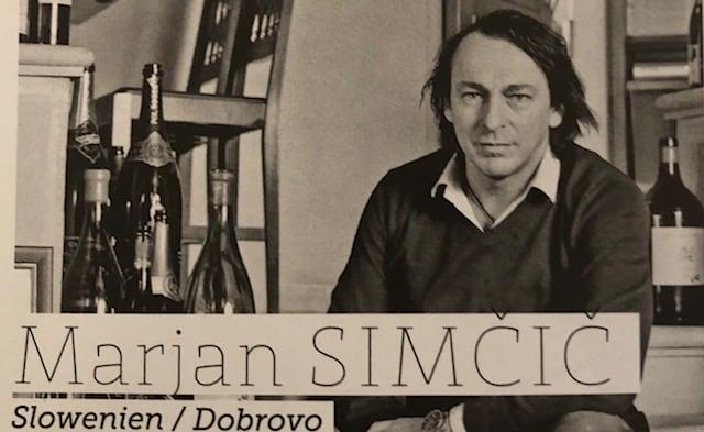 Weinverkostung mit Simcic aus Slowenien