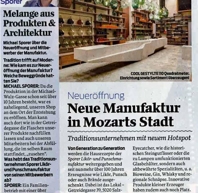 Melange aus Produkten & Architektur