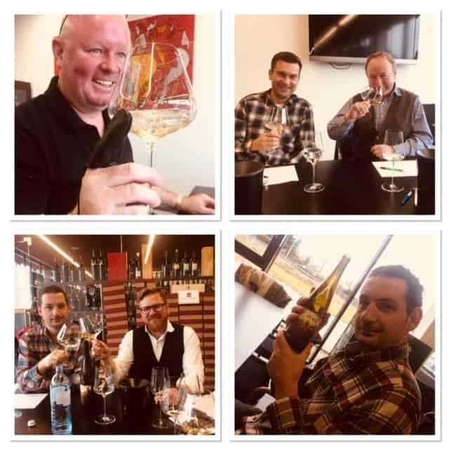 1. Weinverkostung 2018 Sporer