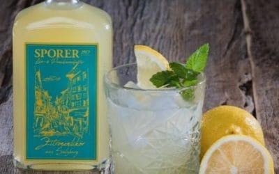 Neu im Online Shop – unser Zitronen Likör